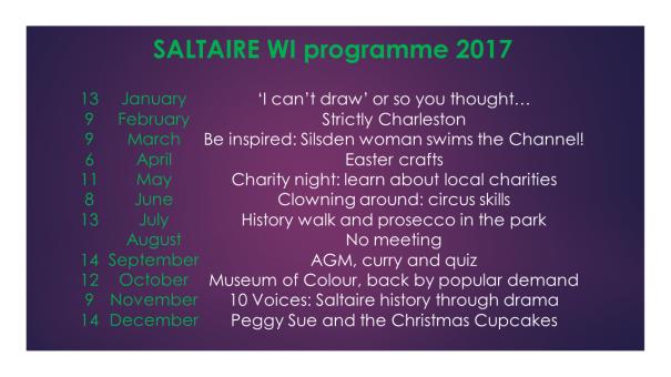 WI Program 2017